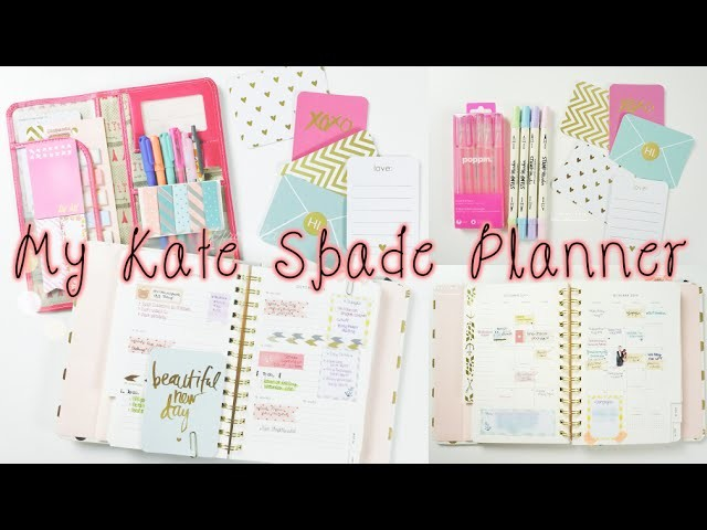 How To Organize & Decorate Your Planner | Charmaine Dulak