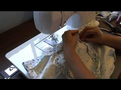 How to sew a grocery bag. Tote bag