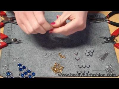 Jewelry making - DIY Project 9: Making dangling earrings