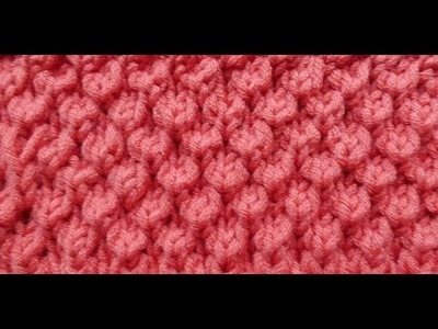 Knit Bobble Stitch In The Round : Brioche Knitting, My Crafts and DIY Projects