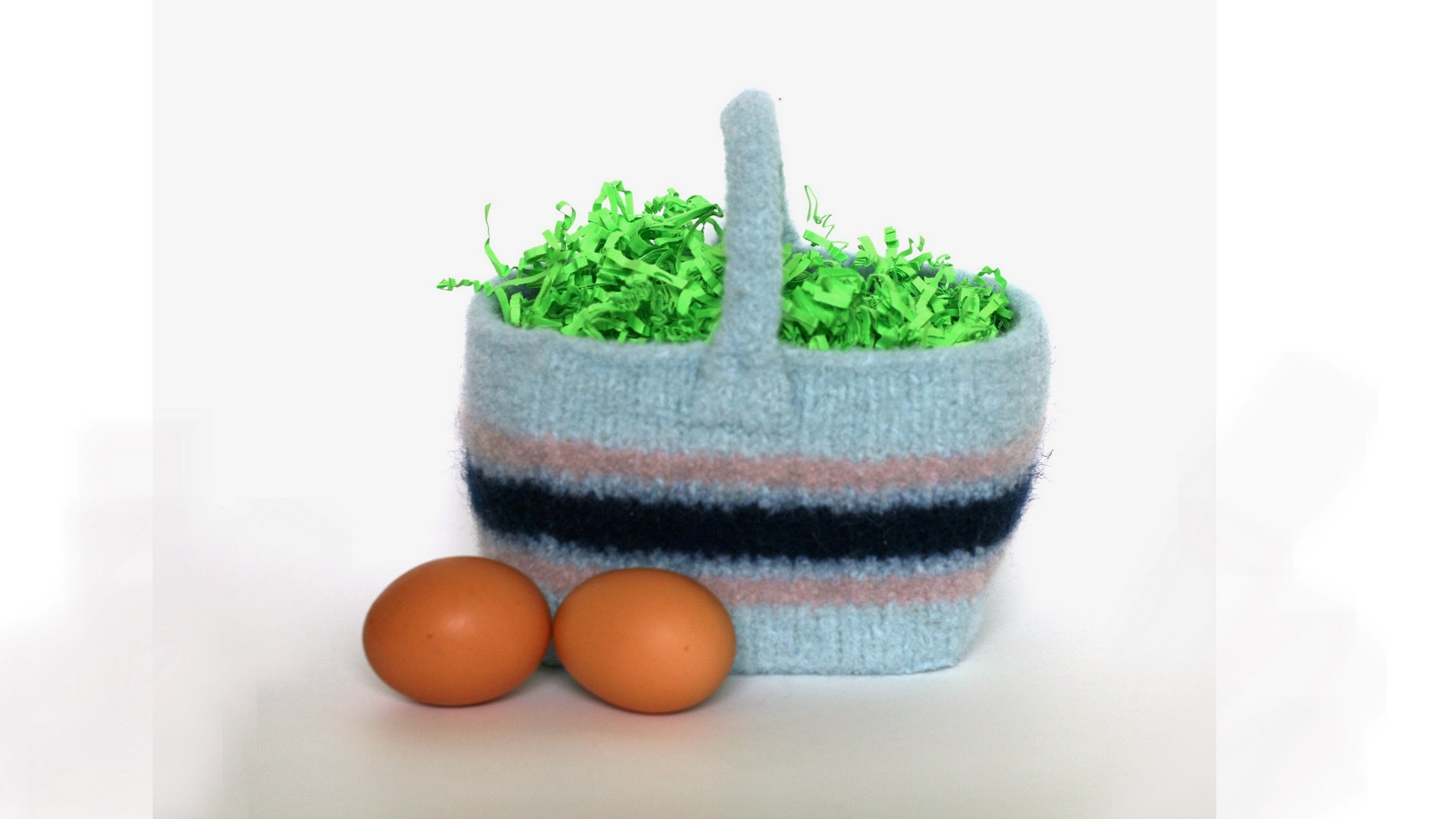 Learn to Felt - Easter Basket, Parts 1-6