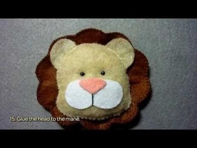 Make a Felt King of Beasts Lion - DIY Crafts - Guidecentral