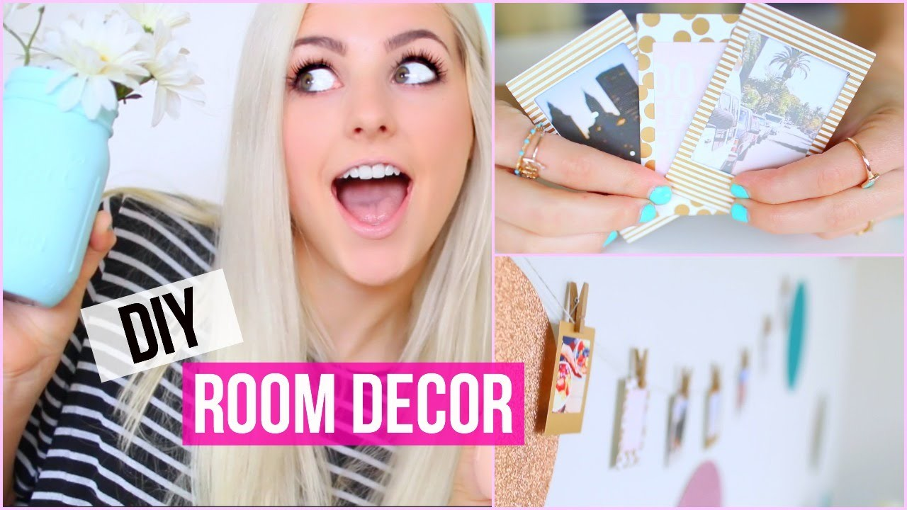 Make Your Room Pretty! DIY Room Decor Ideas! | Aspyn Ovard