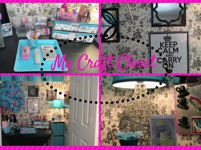 My Craft Closet ~Dollar Tree Inspired~