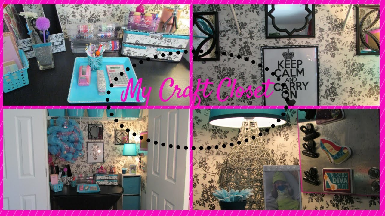My Craft Closet ~Dollar Tree Inspired~