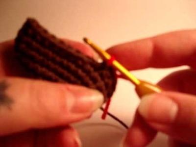 Nerdigurumi - Colour Changes in Amigurumi Crochet - Switching Yarn Color