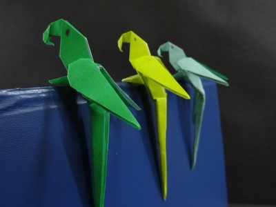 Origami Bird Tutorial - How to fold a Parrot