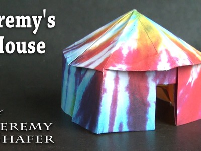 Origami Pop-up House