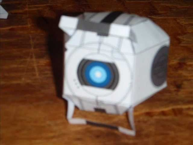 Papercraft Personality Spheres (Portal 2)