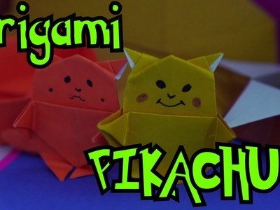 Pikachu Origami -  How to make Origami Pikachu: By Origami Artists