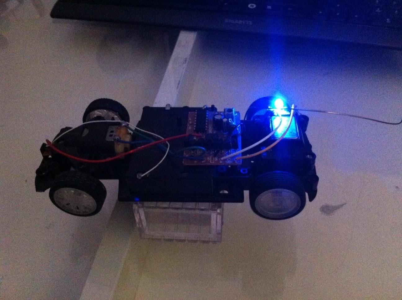 RC car Dynamo Light ! DIY tutorial