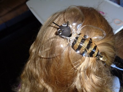 Recycled Project - Plastic Spoon Crafts: How to Make Honey Bee