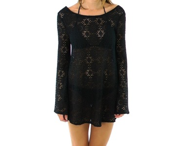 Roxy Women's Autumn Light Crochet Dress | SwimOutlet.com