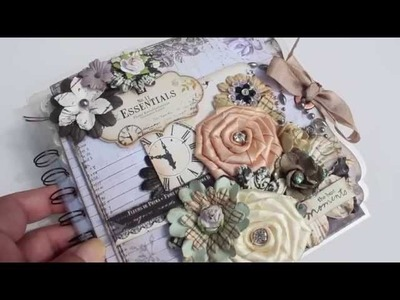 Scrapbooking Easy FRIENDLY Transparency Mini Album (Hobby Lobby Goodies)(LWP)