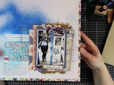 Scrapbooking process video 02 - To Scraplift Oneself