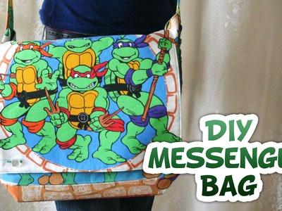 Whitney Sews- Messenger Bag DIY {Geek Week}
