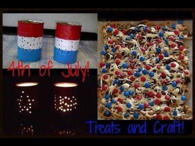 4th of July Craft and Food | DIY | Dakota