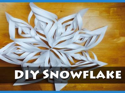 BG DIY: Craft Paper Snowflakes
