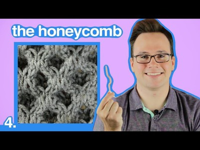 Cable Knitting 101: How to Knit Honeycomb Cables
