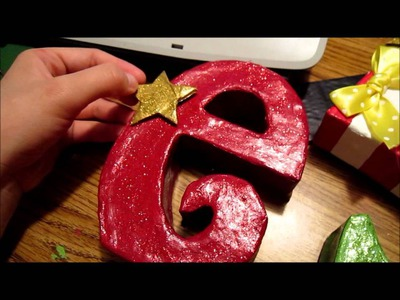 Christmas Crafts Tutorial (Elf Deco) 2 of 2