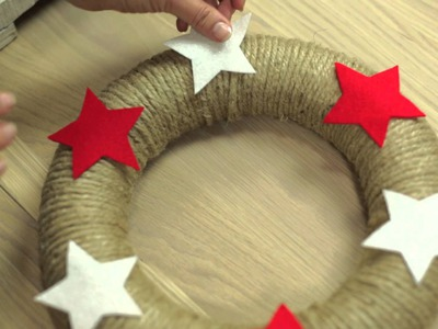 Craft corner: How to make a twine Christmas wreath