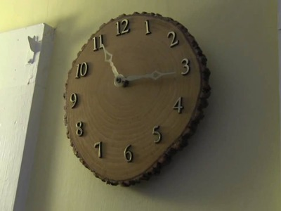 Craft Idea - DIY Wood Clock