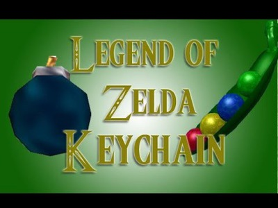 Craft Tutorial: Legend of Zelda Polymer Clay Magic Beans and Bomb Tutorial