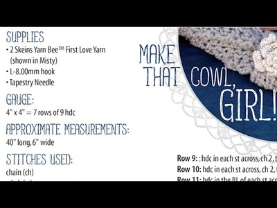 Crochet Basics: How to Read a Crochet Pattern