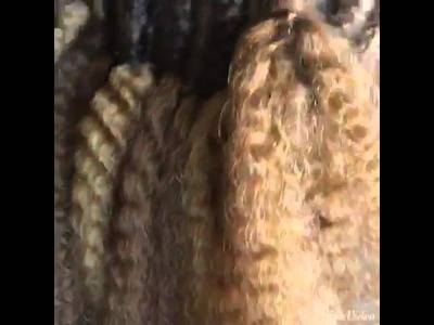 Crochet with under cut and shaved sides