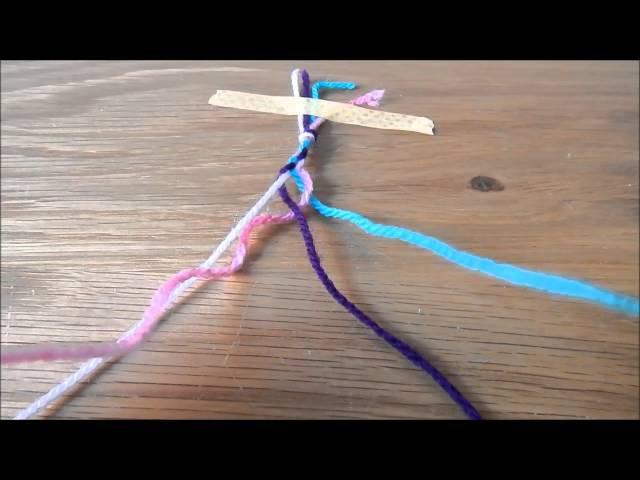 DIY: 4 Stranded Plait ¦ The Corner of Craft