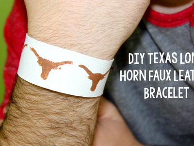 DIY College Football Team Bracelet   DIY Teen Craft