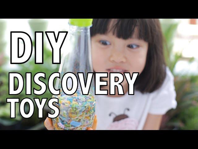 DIY Craft for Kids: Sensory Discovery Toys ทำของเล่นจากข้าวสาร