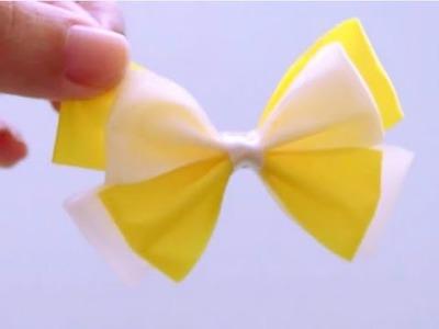 DIY Craft   Hair Bow #2