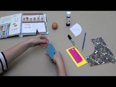 DIY Easy Kid's Craft Activity - How to make cute Easter Egg-cessories!