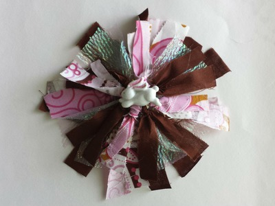 DIY: How to Make a Bow with Scrap Fabric