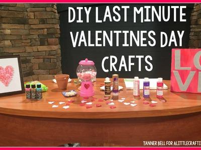 DIY Last Minute Valentines Day Crafts + Teen Room Decor + Kid Crafts