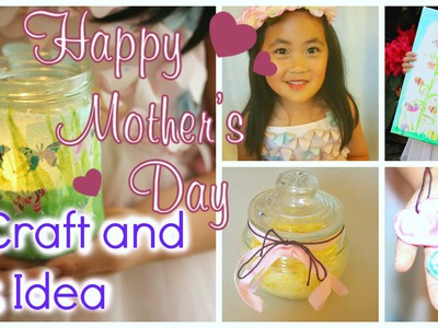 DIY MOTHER'S DAY GIFT IDEAS kids friendly craft