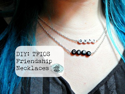 DIY: TFIOS Friendship Necklaces - Collab with E. m.s! ¦ The Corner of Craft