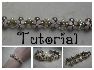 DIY - TUTORIAL Bracciale Isabella con pinch beads