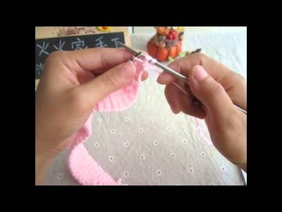 毛衣 小朋友衣服 白色  knitting kids clothes white new born bb DIY BB Mum Handmade crafts