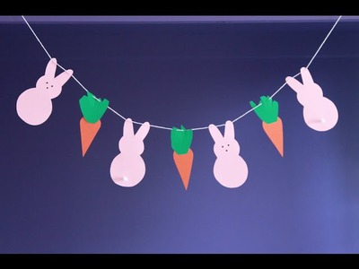 Easy DIY Craft: Make a Peeps Easter Banner