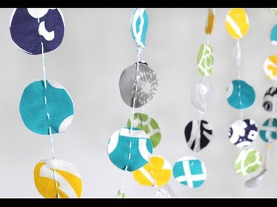 Easy DIY Fabric Garland Tutorial