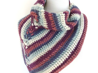 Episode 186: How To Crochet the Alpine View Wrap