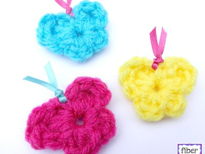 Episode 189: How To Crochet One Round Butterflies