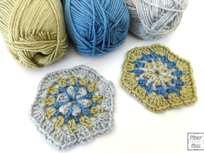 Episode 190: How To Crochet the Strawflower Hexagon Motif