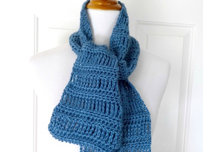 Episode 198: How to Crochet the April Showers Scarf