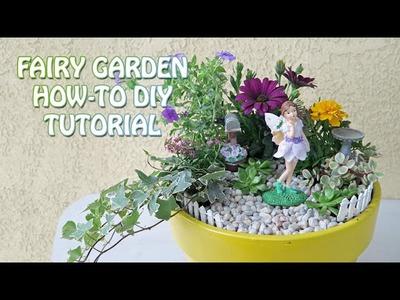 FAIRY GARDEN - HOW TO DIY TUTORIAL - CC