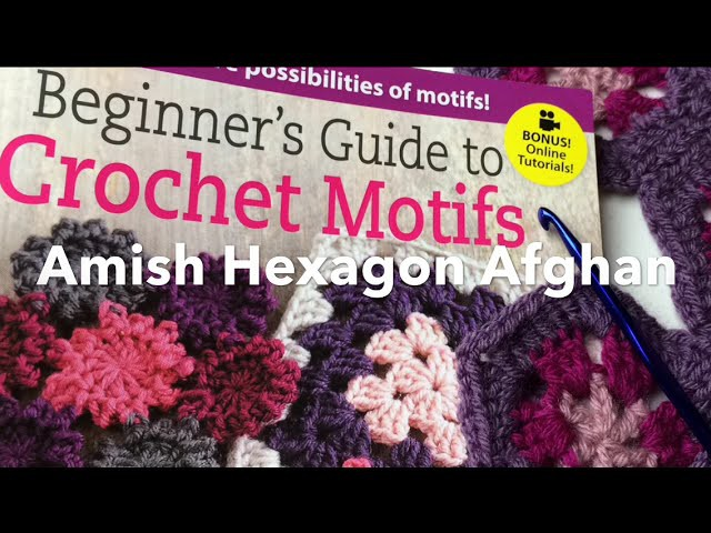 Granny Hexagon - How to Read a Crochet Pattern   Easy