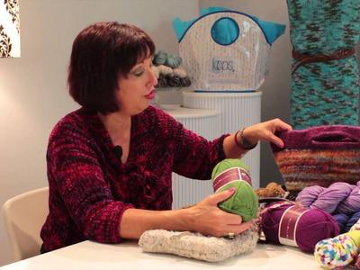 Handmade Knitted Handbags : Knitting Lessons