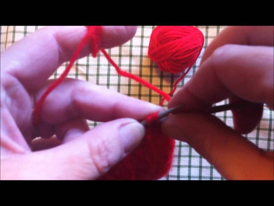 Herzmuster*Stricken*Ajourmuster*Lochmuster*Knitting heart pattern*Tutorial Handarbeit